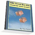 Kite e-book: MBK Dowel Box Kite (moderate wind)