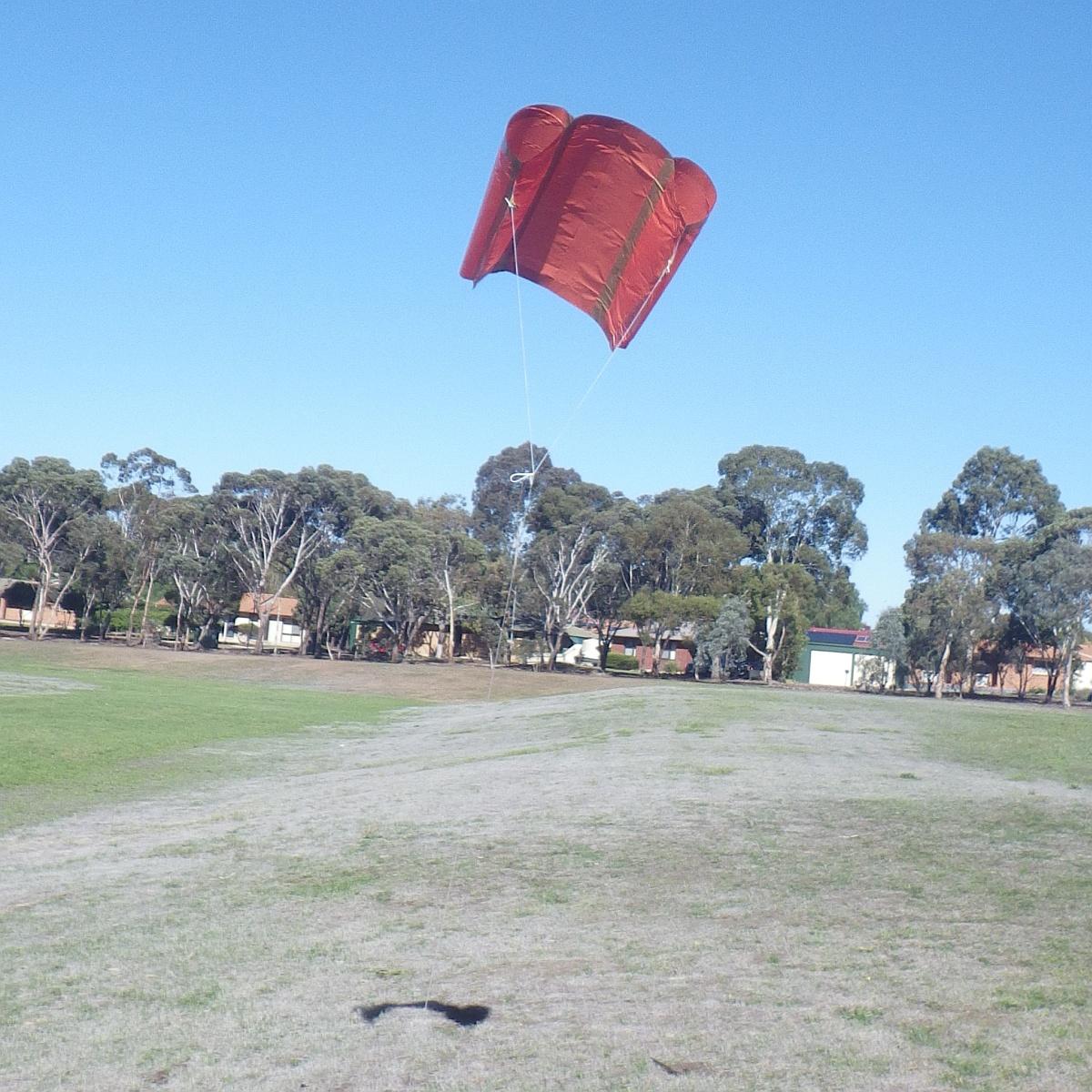 MBK Soft Sled kite 1 - 2.