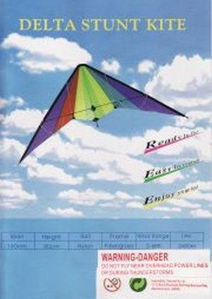 Delta stunt kite review.