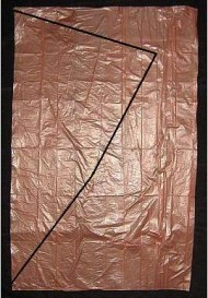 Dowel Diamond - mark one side of bag