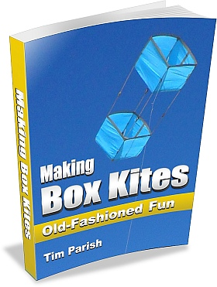 E-book - Making Box Kites - Old-Fashioned Fun.