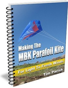 E-book - Making The MBK Parafoil Kite - For Light To Fresh Winds