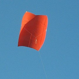 Learn how to build a sled kite in a few easy steps!