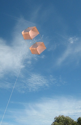 For most of the history of Box kites, someone has flown one just for fun!