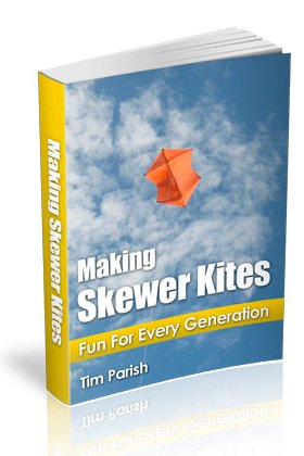 Click to buy the e-book 'Making Skewer Kites'.