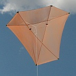 The MBK Dowel Barn Door kite.