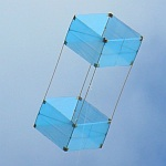 The MBK Dowel Box kite (fresh winds).