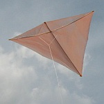 The MBK Dowel Diamond kite.