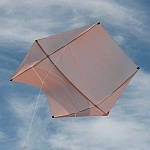 The MBK Dowel Rokkaku kite.