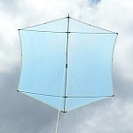The MBK Multi-Dowel Rokkaku kite.