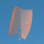The MBK Dowel Sled kite.