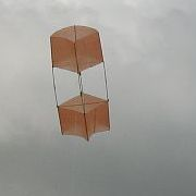 The MBK 2-Skewer Box kite.