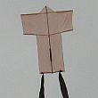 The MBK 1-Skewer Sode kite.