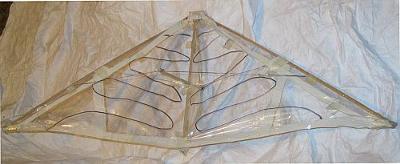 Complete kite - no spreader!