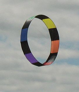 Colorful Circoflex kite.