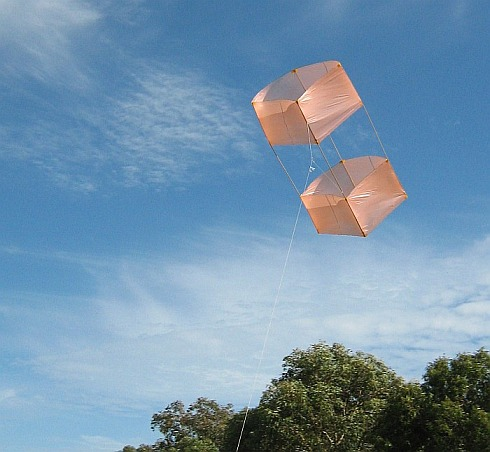 These box kite plans will soon have you flying this kitee!