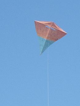 The MBK Carbon Diamond in flight.