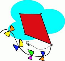 Image result for cartoon image kite