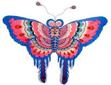 An authentic Chinese Butterfly kite.