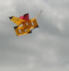 A fine Cody kite we saw at a festival.