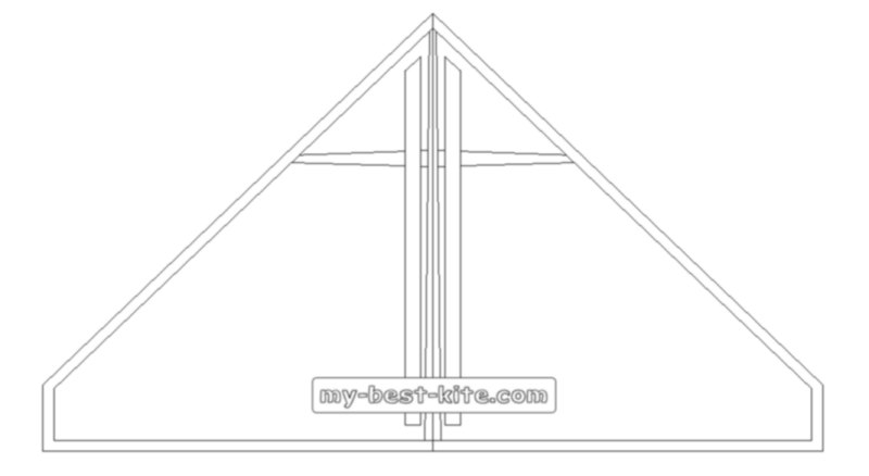 A Different Kind Of Kite Coloring Page, For Kids and Adults.