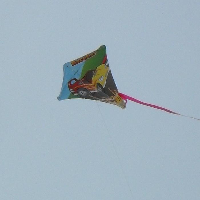 Diamond Kite - Racecar