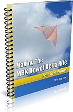 Kite Book - Making The MBK Dowel Delta Kite.