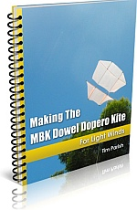 Kite Book - Making The MBK Dowel Dopero Kite.