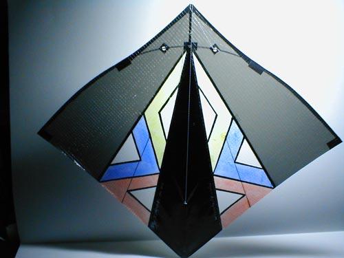 Kite fighting - a modern fighter design, the Resnik.