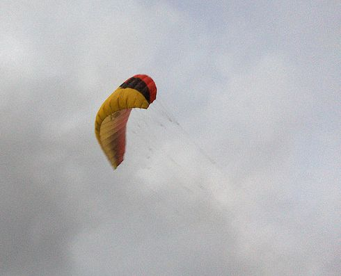 History of Power Kites - the Ozone Fury.