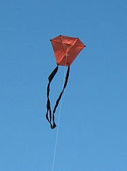 A Homemade Kite Is Fun To Fly - If You