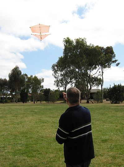 How to build a Roller kite - launching