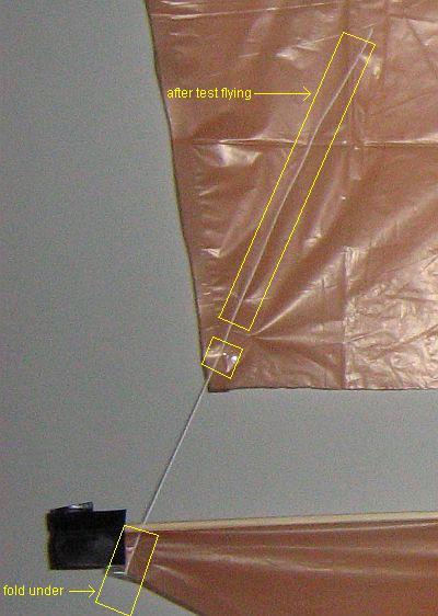 The 2-Skewer Roller - upper sail tethering