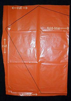 The 2-Skewer Sled - bag cut on 3 sides