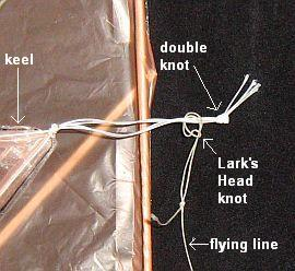 The 1-Skewer Delta - attaching the flying line