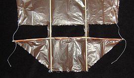 The 1-Skewer Dopero - sail corner ties