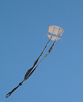Learn how to make a Dopero kite like this one!