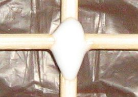 The 1-Skewer Sode - glued cross-over point