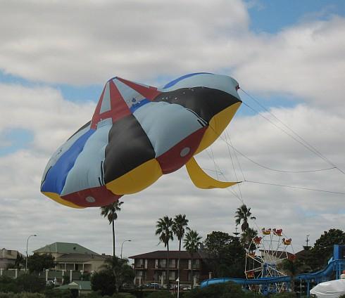 large UFO kite