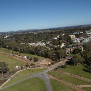 KAP image of Adelaide CBD from the south.