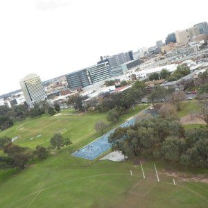 KAP image of Adelaide CBD, taken from the South Parklands.