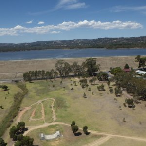 KAP image of Happy Valley Reservoir, taken from the west.