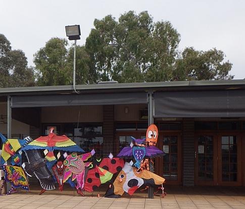 kites for sale at henley grange memorial oval