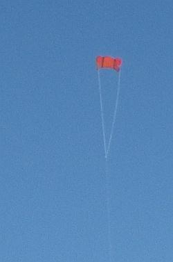 Murray Bridge Kite Festival 2016 - Soft Sled kite.