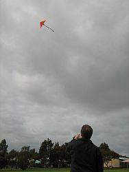 Original 2-Skewer Delta in flight.