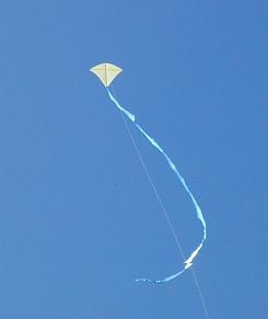 The MBK Tiny Tots Diamond in flight.