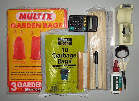 Kite Materials - for the MBK skewer kites.