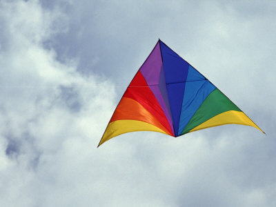 A large modern Delta kite