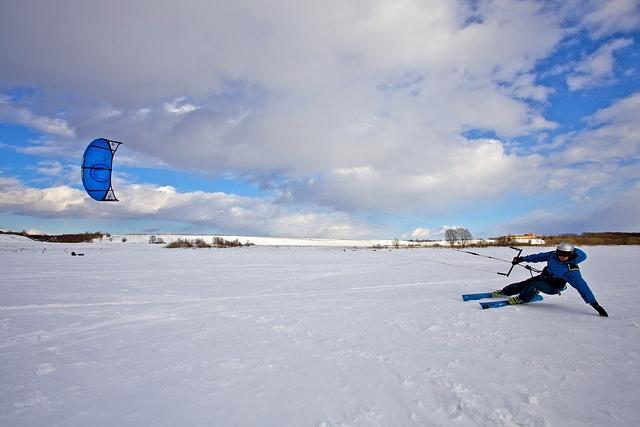 21st century kite skiing