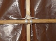 The Dowel Sode - lashing spars together with flying line.